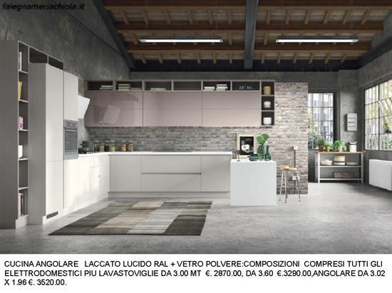Cucine Moderne Bianche Laccate