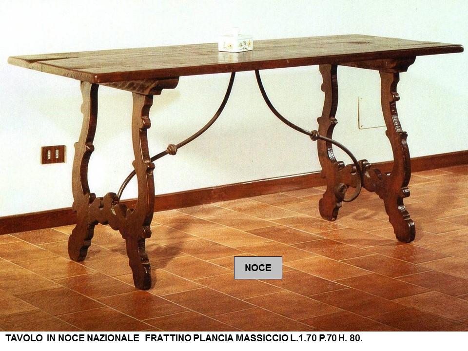 Tavoli Classici In Legno.Tavolo Fratino Costruito In Legno Vecchio N 10 C Cp Falegnameria