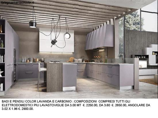 Cucina Con Due Angoli : Cucina con due angoli n m h falegnameria chiola