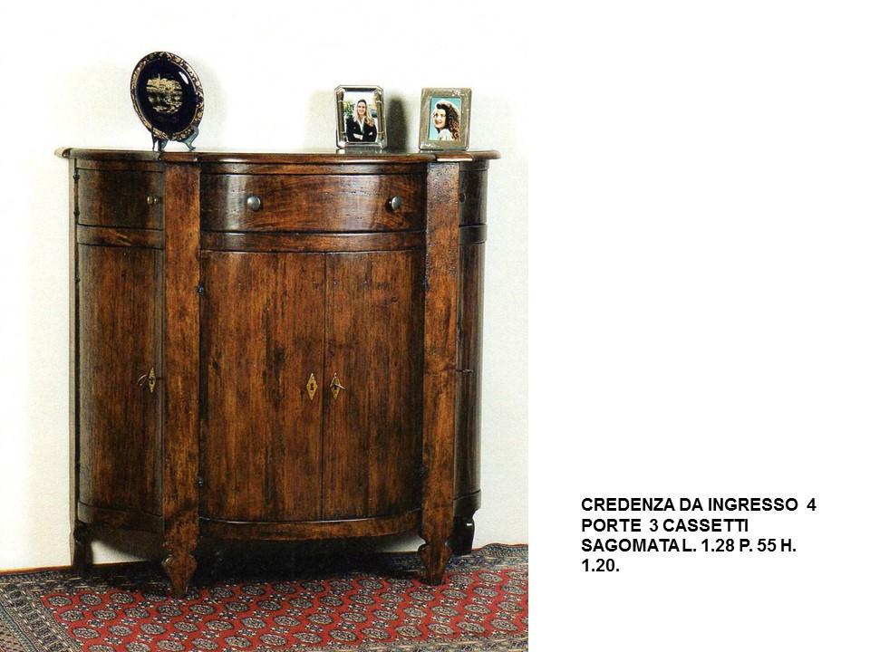 Credenza Classica Per Ingresso : Credenza sagomata da ingresso n c cp falegnameria chiola