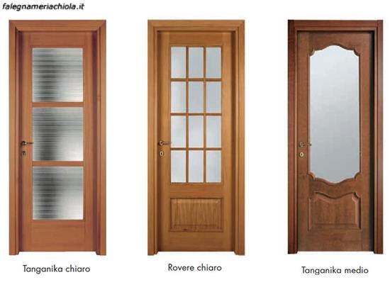 Porta Con Tre Vetri E Inglesina N 22 Falegnameria Chiola