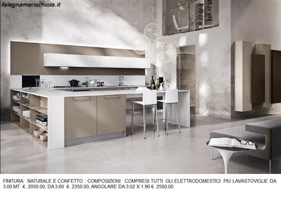 CUCINA A U CON PRIMA COLAZIONE N. 24 M. H. | Falegnameria Chiola