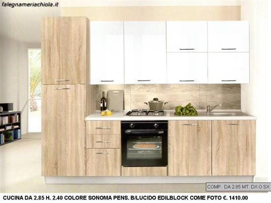 Comp n 9 ou n s cucina da con alta con pensili a vasistas falegnameria chiola - Pistoni vasistas cucina ...