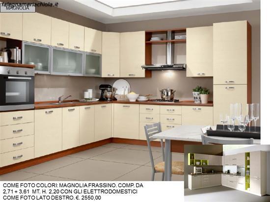 CUCINA COLORI MAGNOLIA FRASSINO N. 176 M. N. | Falegnameria Chiola