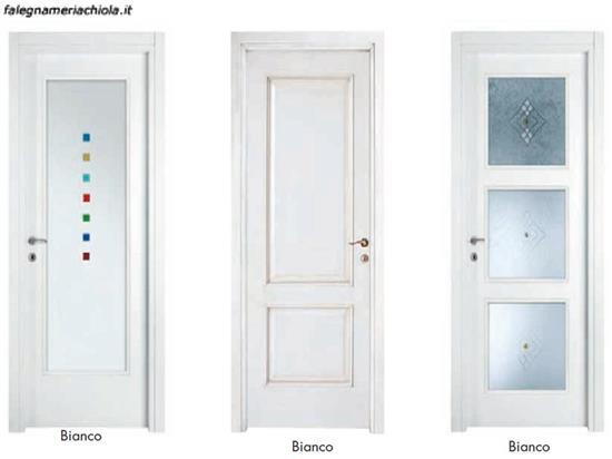 PORTE LACCATE BIANCHE N. 67 | Falegnameria Chiola