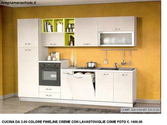 Comp n 10 ou n s cucina da metri con lavastoviglie - Cucine componibili con lavastoviglie ...