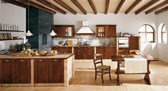 Cucine classiche lineari awesome elegante cucine componibili a prezzi di fabbrica pi cucine - Cucine finte muratura ...