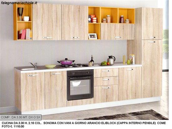 Comp n 43 ou n s cucina mt con vasistas falegnameria chiola - Pistoni vasistas cucina ...