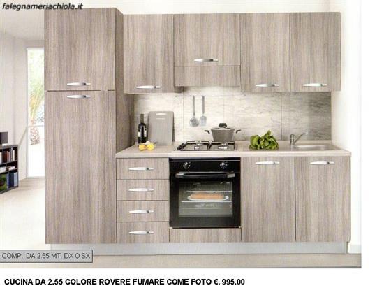 Comp n 1 ou cucina color rovere fumare da - Cucina color melanzana ...