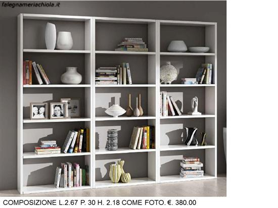 Falegnameria Chiola | Categorie prodotti OUTLET Librerie moderne ...