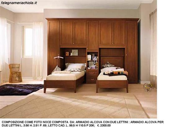 Falegnameria Chiola | Categorie prodotti Camerette classiche a ponte ...