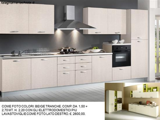 Cucina Colori Beige Tranche N 173 M N Falegnameria Chiola