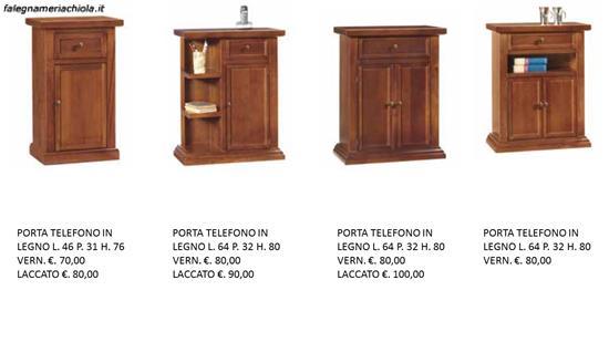 Mobiletti in legno e laccati per ingresso n 14 c t ou - Mobiletti in legno ...
