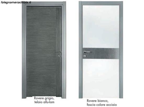 Top porte rovere grigio e bianco n with porte grigie for Porte dorica castelli prezzi