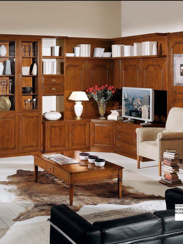 Mobili soggiorno classico mobili in legno soggiorno for Arredi classici