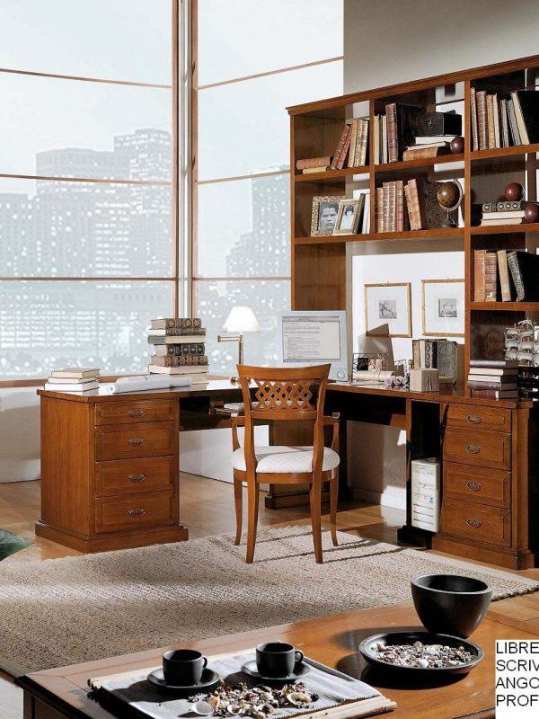 Favoloso Libreria classica in legno, Libreria artigianale in legno  NM02