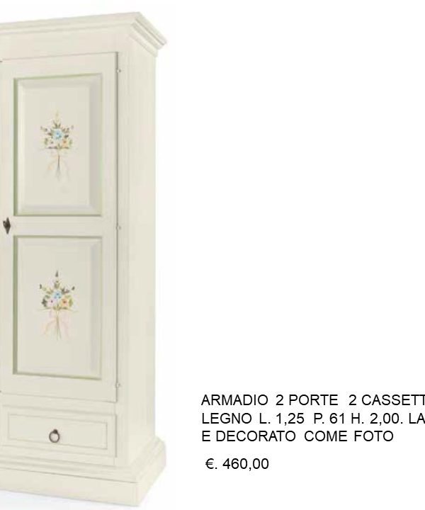Falegnameria Chiola   Categorie prodotti OUTLET Armadi ...
