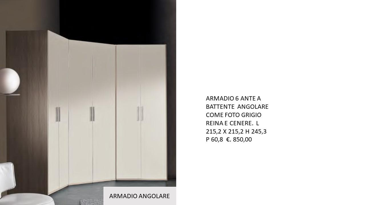 ARMADIO 6 ANTE A BATTENTE ANGOLARE.N 6 M ARM MC ...